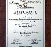 Dyplom POLAGRA